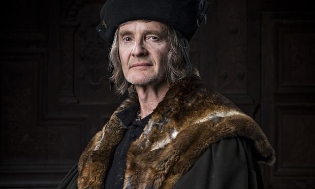 Anton Lesser plays Thomas More in a six-part adaptation of Wolf Hall on BBC2. Photograph: Ed Miller/BBC