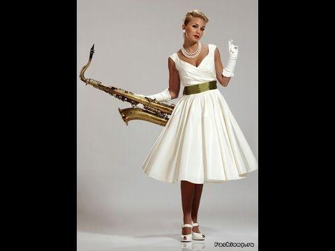 """Платье в стиле """"ретро"""". Моделирование."""