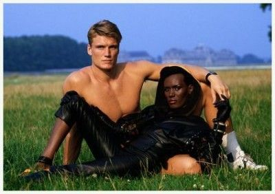 Dolph Lundgren and Grace Jones | Dolph Lundgren | Pinterest