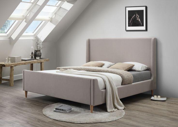 Bedford King Upholstered Platform Bed