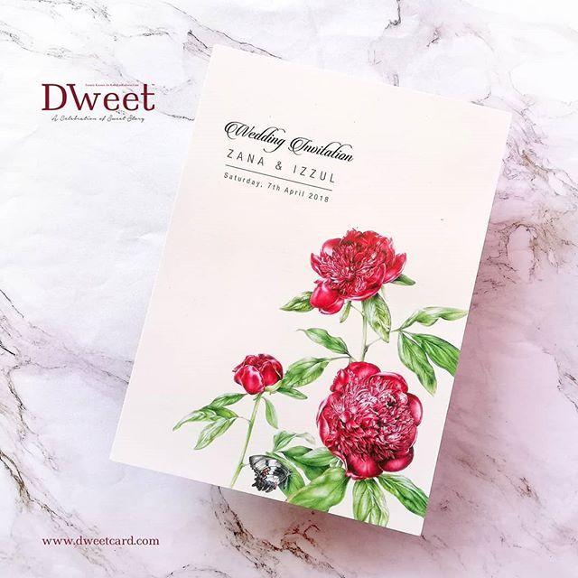 Jika Anda Menempah Kad Undangan Di Dweetcard Sekarang Anda Memang Akan Mendapat 8 Barang Anda Mungkin Akan Berpeluang Men Book Cover Kad Kahwin Cover
