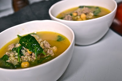 Hearty Spinach and Chickpea Soup | Food and Kitchen. | Pinterest ...