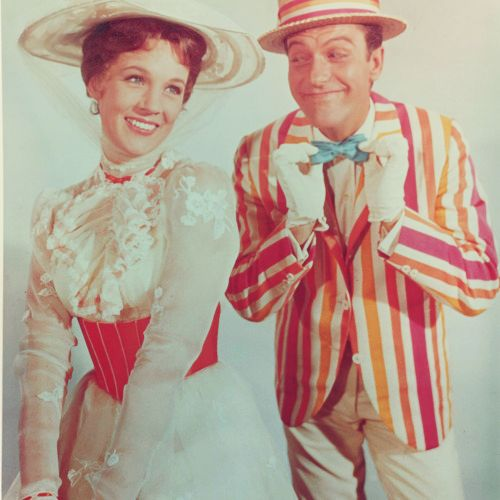 Julie Andrews and Dick Van Dyke - Mary Poppins