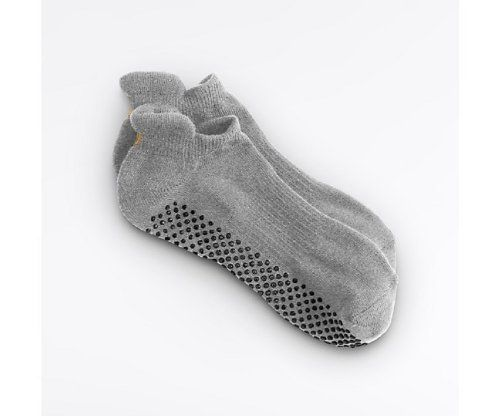 Yoga Studio Grip Socks By Lucy (Grey) Lucy Activewear. $12.99