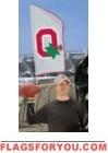 "Ohio State Buckeyes ""O"" Tailgate Flag 42"" x 20"""