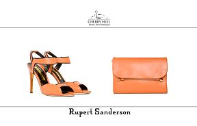 Stay in trend! #Pumpkin calf leather #sandal and music #bag from #RupertSanderson for #CherryHeel #Barcelona. Perfect for casual outfits and night parties.  Shop in our boutique at c/Mallorca 273 and online at www.cherryheel.com  #shoppingbarcelona #justforyou #musthaves #compras #calzadoexclusivo #zapatos #comprasbarcelona #shoponline #compraonline #bestshop #bestshoes #fashion #moda