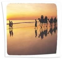 Camel Trek on Cable Beach, Broome
