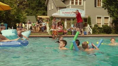 At The Community Pool: Gilmore Girls: A Year In The Life - Episode 3; Summer