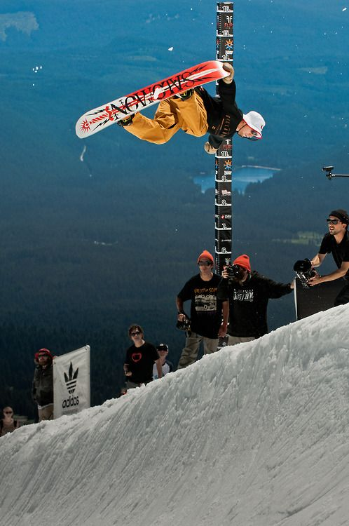 Bode Merill at the Snowboarder Mag Summer Games. High Cascade Snowboard Camp 2013 Mt. Hood, Oregon. Photo: gfureyphoto