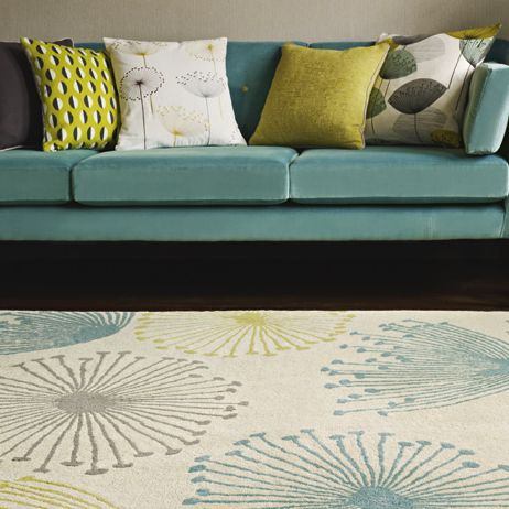 A new Dandelion Clocks rug from Sanderson. Why not try the matching wallpaper and fabrics too?