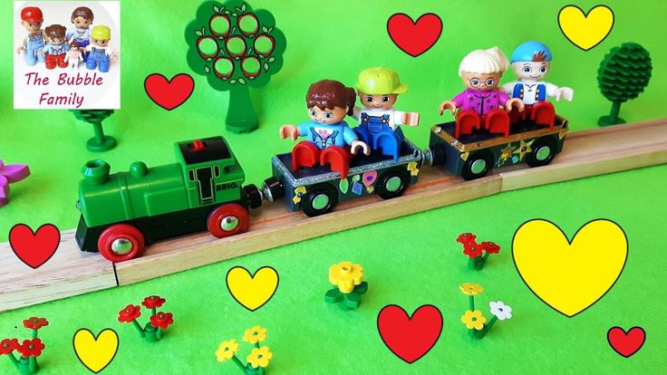 FARM TRAIN - Lego Duplo Kids - Brio Train - Lego Duplo Train