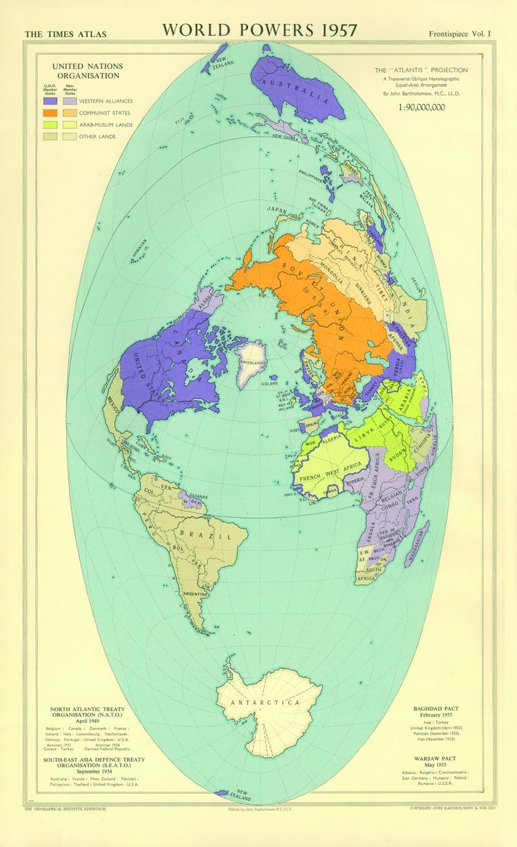 391 best maps images on pinterest maps cartography and worldmap world powers map 1957 gumiabroncs Gallery