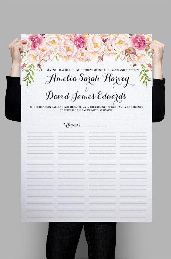 Best 25+ Marriage certificate ideas on Pinterest Wedding - wedding certificate template