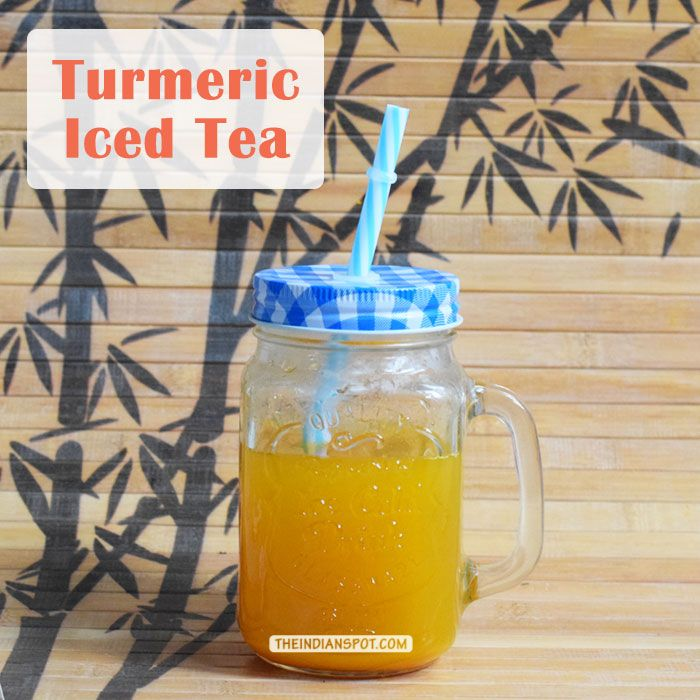 HEALTH DIY: TURMERIC ICED TEA FOR ENERGIZING SUMMER MORNINGS