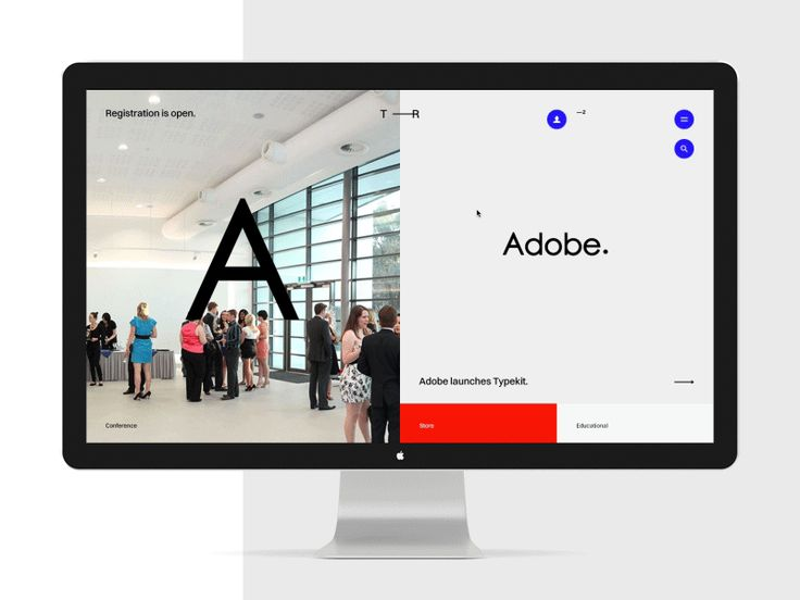 T ——R. An upcoming typography portal.  The process.  UI/UX — Alexander Laguta  Don't forget to follow us on Behance  Thank you!