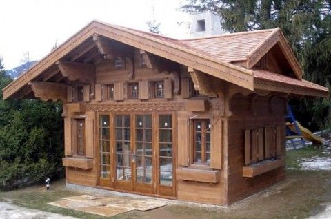 the wendy playhouse, commissioneda swiss millionaire as a
