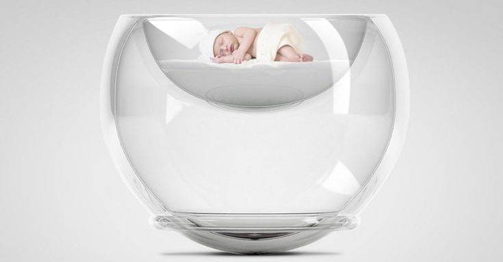 The Bubble Baby Bed - bursting the bubble on conventional cot design #Bassinets, #BubbleBabyBed, #Cradles, #Newborn, #Scandinavian