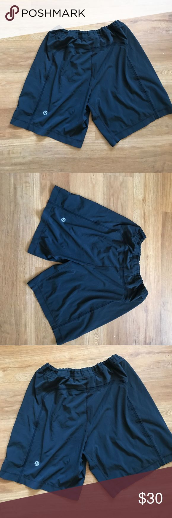 Lululemon men's pace breaker shorts size Xl black Lululemon pace breaker men's shorts size Xl liner it's been removed , other than that perfect lululemon athletica Shorts
