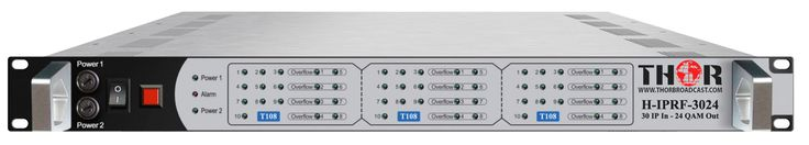 Visit this site http://thorbroadcast.com/ for more information on HD Modulator. Most Cost Effective Full HD Modulator on the market ideal solution to distribute any 720p/ 1080i/ 1080p FULL HD Video Signalsto an unlimited number of HD television over the existing coax cables.