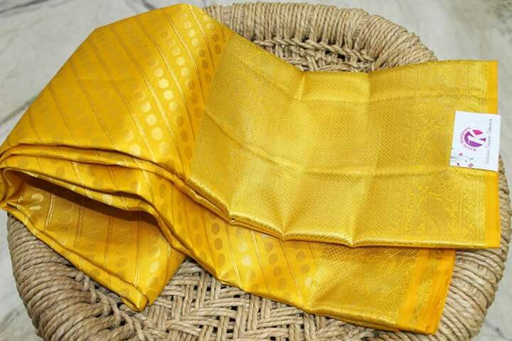 Unique Kanchi Pattu Saree Collection from Kushi Designers