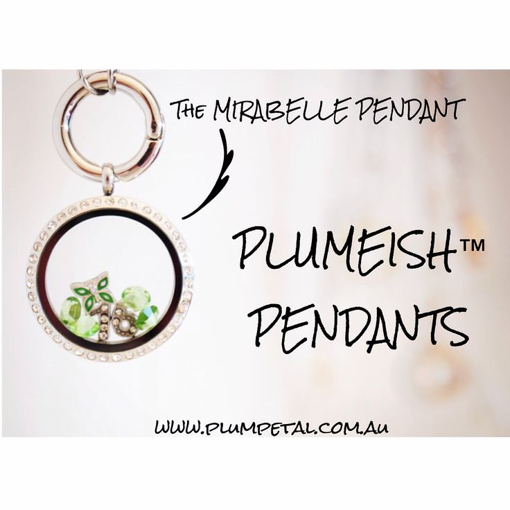 The perfect look... the MIRABELLE PENDANT is one of the PLUMEISH PENDANTS silver stunner! She is one of the Big Sisters of the PLUMEISH PENDANT collection. Check out our pendants at www.plumpetal.com.au
