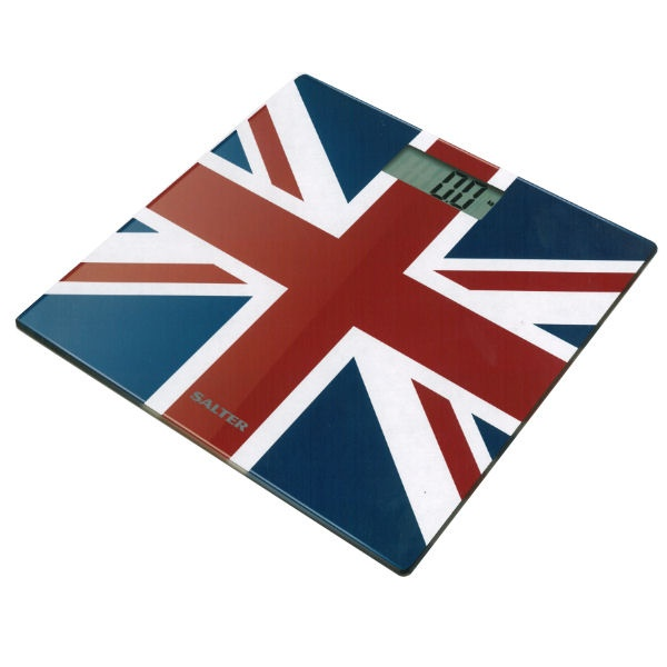 Love it. Bought it. Salter Ultra Slim Electronic Bathroom Scales Union Jack
