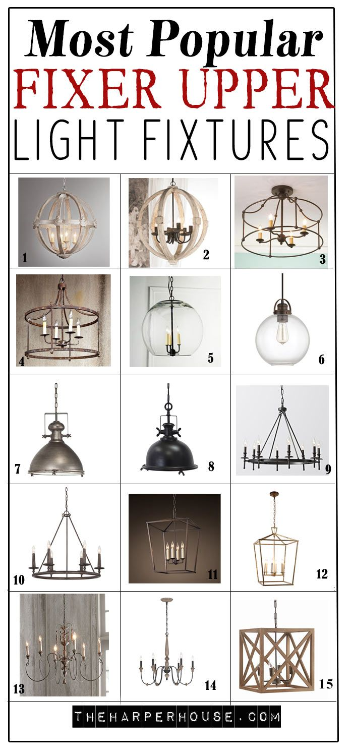 Find out where to buy these popular fixer upper light fixtures as seen on the show perfect for lovers of chip and joanna gaines farmhouse style