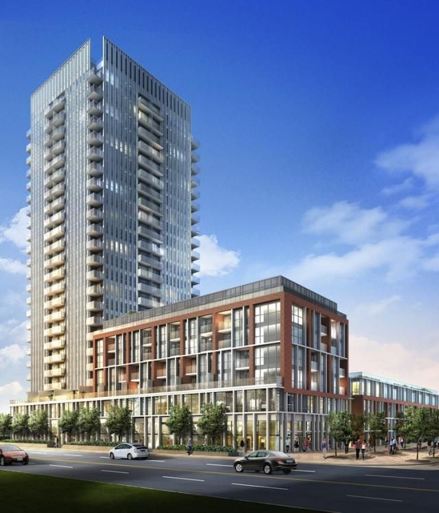 581 Dundas St E   One Park Place   A great addition to the streets of Regent Park, One Park Place promises to add a touch of convenience to city living. #Toronto #Condos