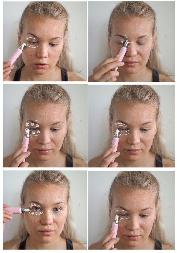 Eye massage for puffy eyes! Charlotta Eve