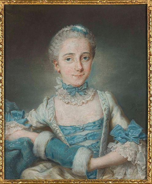 Portriat of a woman, 1755 by Léon-Pascal Glain (1715-1775) (Warsaw)