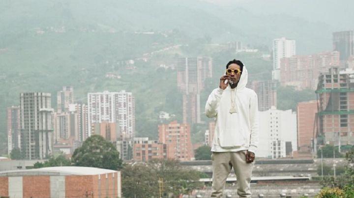 Rapper Wiz Khalifa made headlines when paying tribute to Colombian drug Pablo Escobar. (Photo via Instagram / @wizkhalifa)