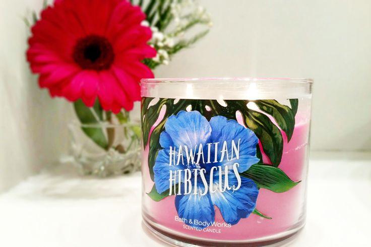 hawaiian hibiscus bath body works beautyandatwist august 2016 lumanari bath&body works