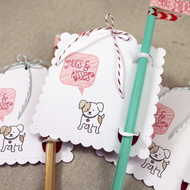 Dress Up Dolls: Puppy Love Mini Stamp Set: Papertrey Ink Clear Stamps Dies Paper Ink Kits Ribbon