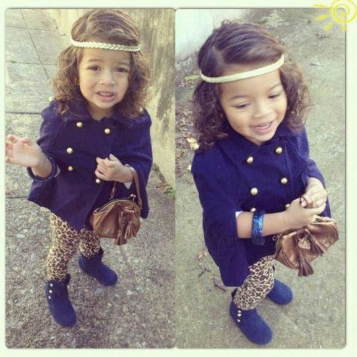 : Fashion Kids, Little Girls, Girls Swag, Baby Outfits, Kids Fashion, Baby Style, Future Kids, Baby Girls, Leopards Prints