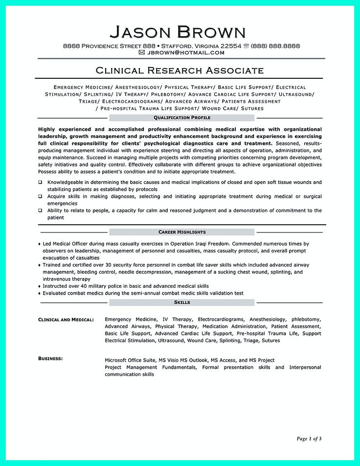 making clinical research associate resume is sometimes not