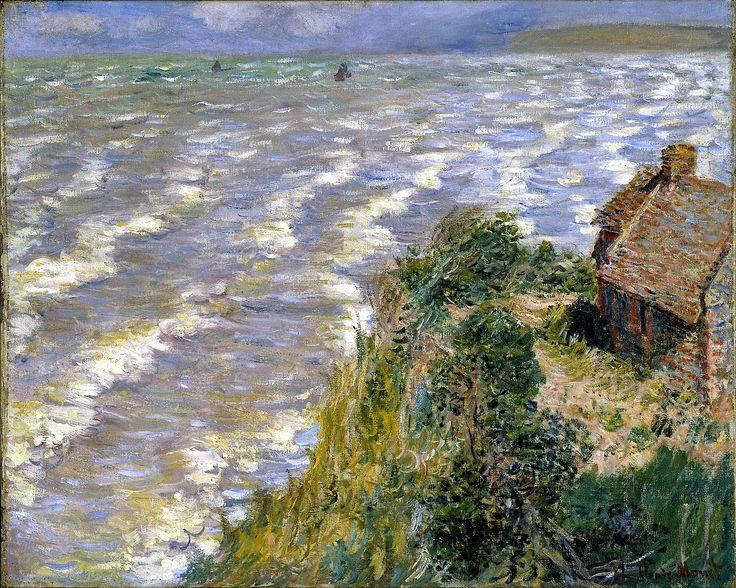 Marée montante à Pourville - Claude Monet