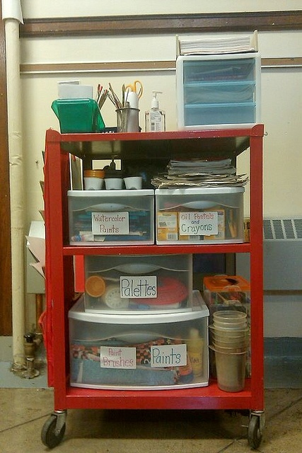 Praying i wont have to... Art on a Cart: by teachingpalette, via Flickr