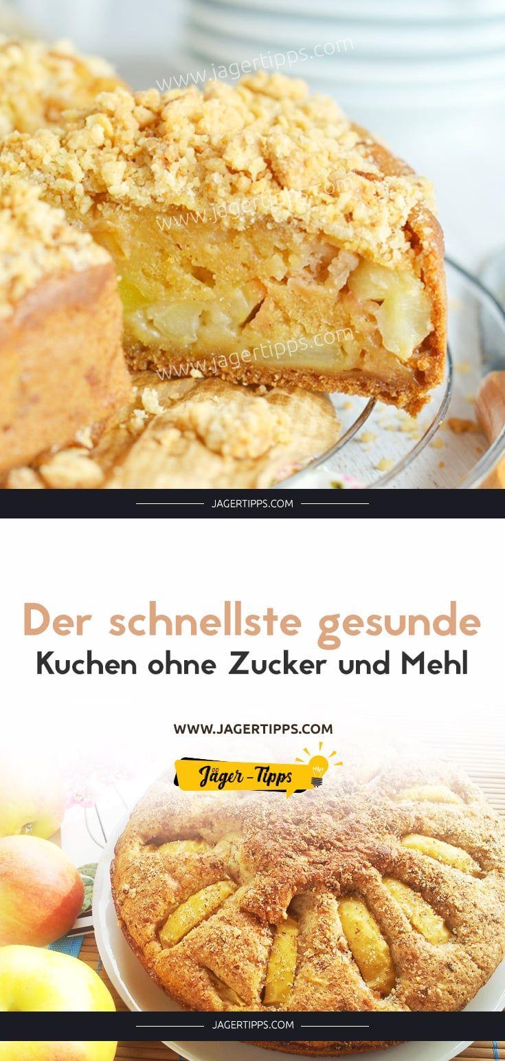 Der Schnellste Gesunde Kuchen Ohne Zucker Und Mehl Rezept In 2020 Kuchen Ohne Zucker Und Mehl Kuchen Ohne Zucker Kuchen Ohne Mehl