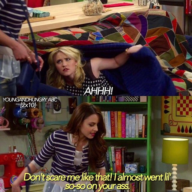 "#YoungAndHungry 2x10 ""Young & Part Two"" - Gabi and Sofia"