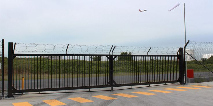 Qantas Catering Brisbane Security Screens with Razor Wire