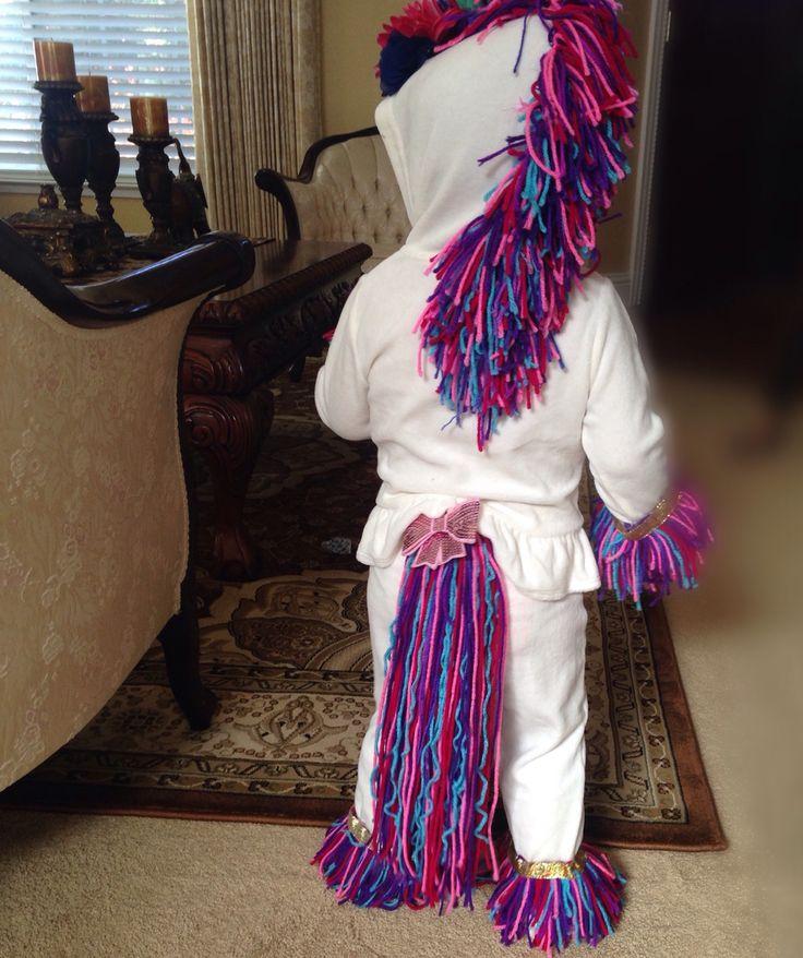DIY unicorn costume! Boom!