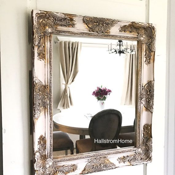 25+ Best Ideas About Shabby Chic Mirror On Pinterest