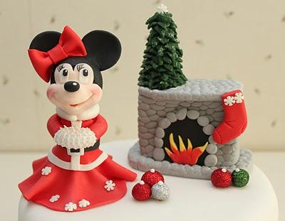 Minnie en Navidad