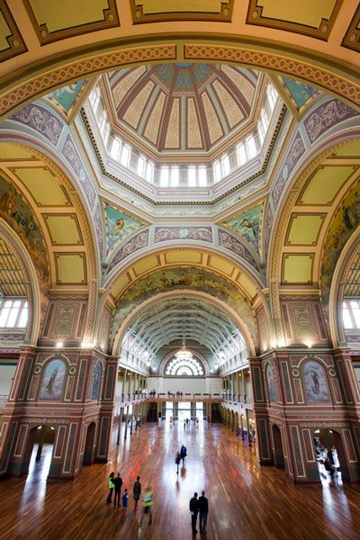 The Royal Exhibition Building, Melbourne.