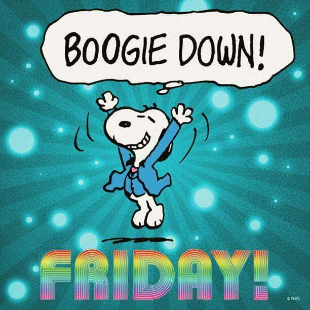 Snoopy Friday Dance!!