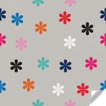 Naklejka - Nordic kwiatowy tapety