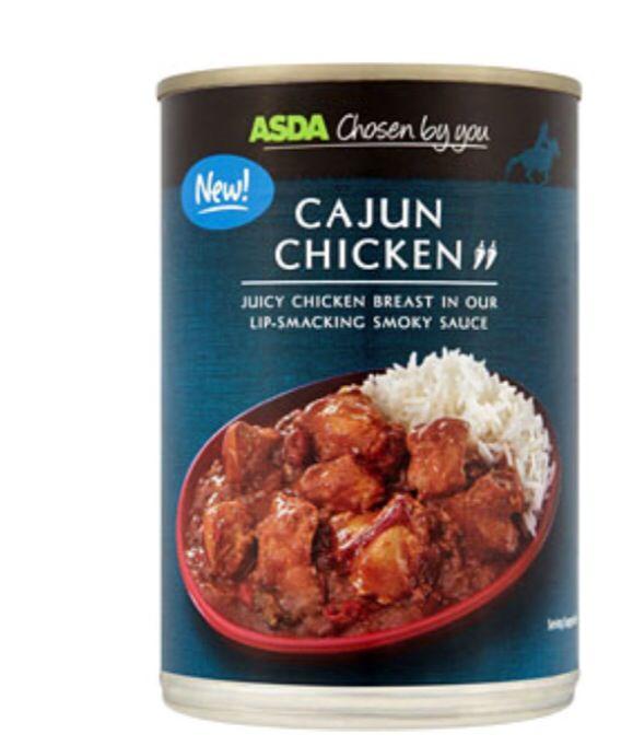Asda Cajun Chicken - Zero Syns