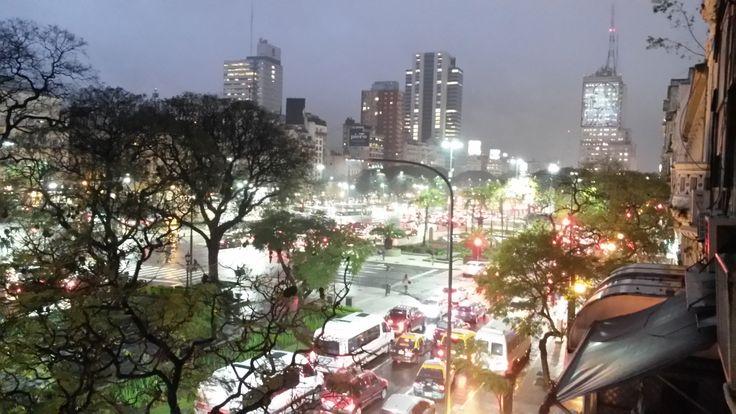 Room with a view, Avenida 9 de Julio, Buenos Aires