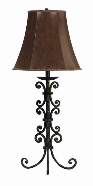 11 Best Lamps Images On Pinterest Wrought Iron
