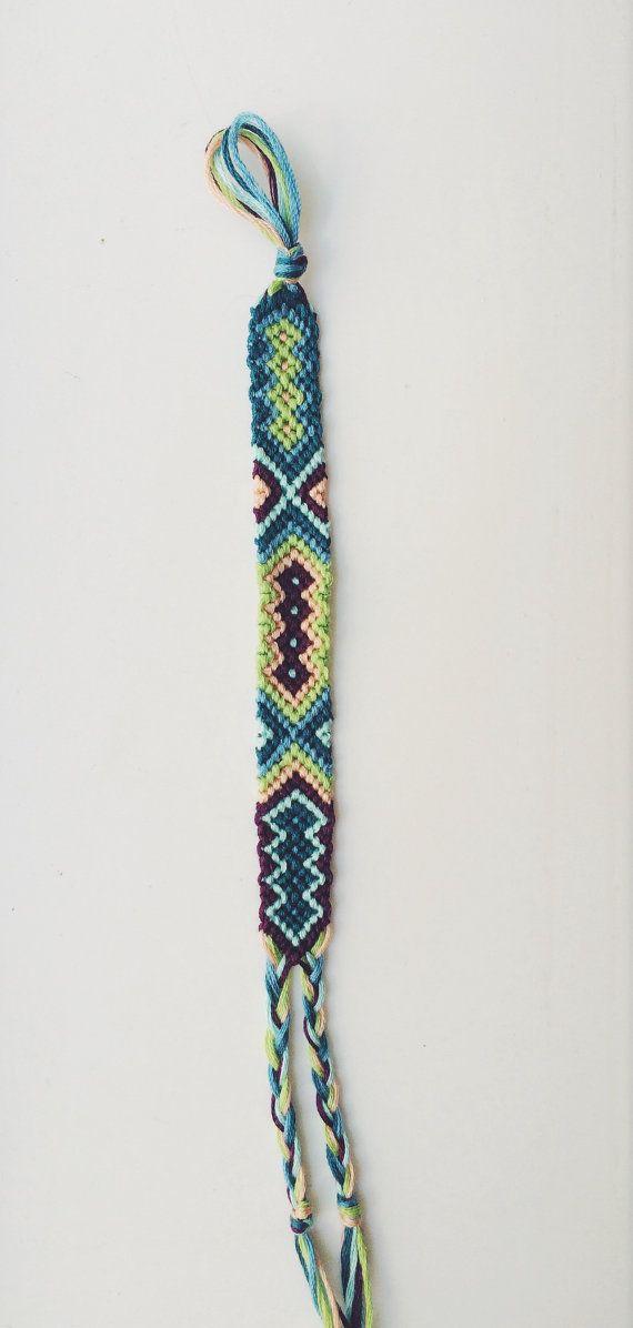 Tribal Friendship Bracelet by BraidsForBrains on Etsy